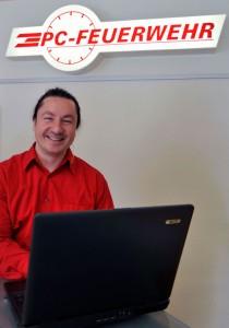 Holger Dinter, PC-Feuerwehr Harburg