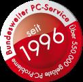 Bundesweiter PC-Service seit 1996 - über 550.000 gelöste PC-Probleme