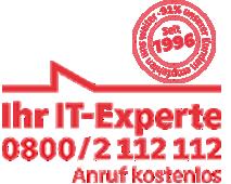 Bundesweiter IT-Service seit 1996 - über 600.000 gelöste IT-Probleme